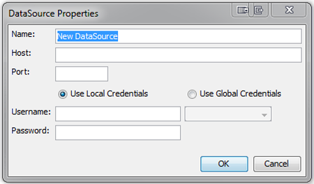 CMC DataSource Properties dialog box