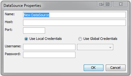 CMC DataSource Properties dialog box